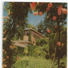 Postales: POSTAL GRANADA - GENERALIFE, JARDINES - ED. P. SUAREZ (FOTO TAYLOR). Lote 53054550