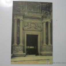 Postales: POSTAL ALMERIA PORTADA DE LA CATEDRAL .--BB. Lote 53125525