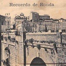 Postales: RECUERDO DE RONDA.- DESPLEGABLE. Lote 53233602