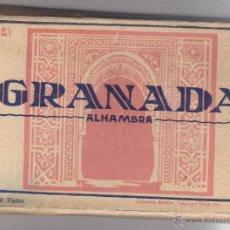 Postales: T. POSTALES GRANADA –ALHAMBRA – 34 VISTAS + 15 DE LA CARTUJA + 1 ALBAICIN (50 POSTALES). Lote 53244406