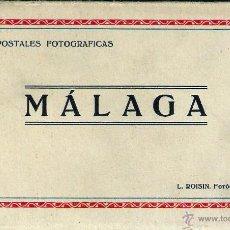 Postales: 10 POSTALES FOTOGRÁFICAS MÁLAGA. Lote 53245665