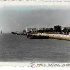 Postales: CADIZ PUERTO SANTA MARIA RIO GUADALETE Y VISTA PARCIAL. ED. ARRIBAS 21. CIRCULADA. Lote 53246171