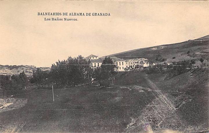 Baños Alhama De Granada   Balnearios De Alhama De Granada Los Banos Nue Kaufen Alte