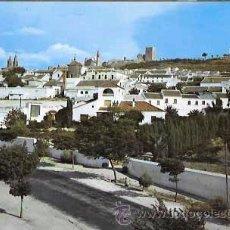Postales: SEVILLA ESTEPA PANORAMICA DE LA CIUDAD EXC. VILLA DE MADRID. CIRCULADA. Lote 53418637