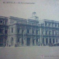 Postales: AYUNTAMIENTO SEVILLA ED JOSE BUSTILLO S/C Nº 62 ANIMADA . Lote 53466652