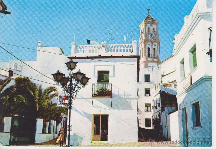 (4) COSTA DEL SOL. PLAZA TIPICA (Postales - España - Andalucia Moderna (desde 1.940))