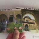 Postales: 2 FUELLES , CARPETILLAS , BLOC 10 POSTALES GRANADA GENERALIFE Y ALHAMBRA. Lote 53598789