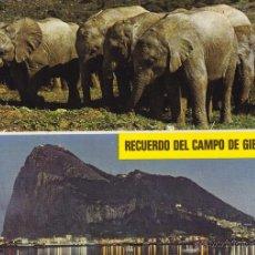 Postales: GIBRALTAR Nº 13 DIVERSOS ASPECTOS SIN CIRCULAR F. SUBIRATS CASANOVAS . Lote 53632130