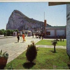 Postales: MAGNIFICA POSTAL EL PEÑON DE GIBRALTAR LA LINEA ALGECIRAS. Lote 53683067