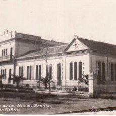 Postales: SEVILLA - VILLANUEVA DE LAS MINAS - ESCUELAS DE NIÑOS - POSTAL FOTOGRAFICA . Lote 53783435