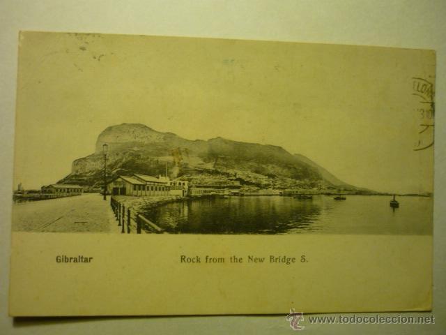 POSTAL GIBRALTAR - CIRCULADA BB (Postales - España - Andalucía Antigua (hasta 1939))