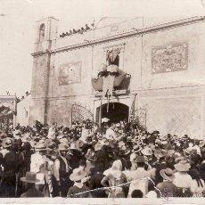 Postales: VILLAMANRIQUE D LA CONDESA - ENTRADA HDAD ROCIO - MAYO 1919 - HNO MAYOR RICARDO SERRA - FOTO POSTAL . Lote 53822892