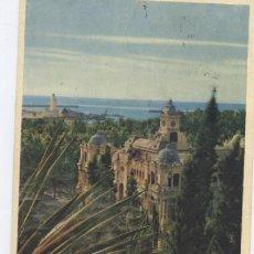Postales: MALAGA-VISTA ARTISTICA DEL AYUNTAMIENTO. Lote 53984189