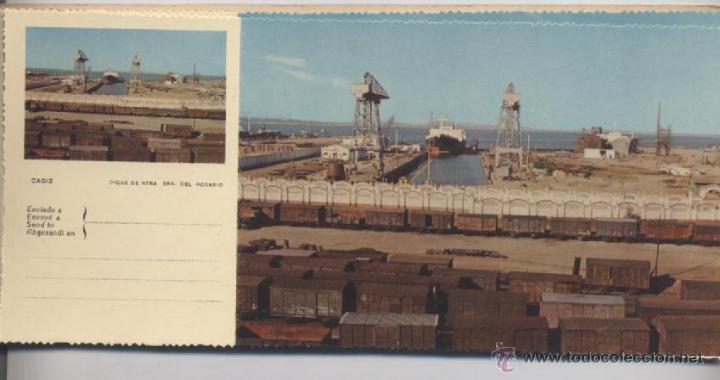Postales: ALBUM DE 10 POSTALES EN FOTOCOLOR MATRIZADAS-CADIZ-1950 - Foto 3 - 54063393