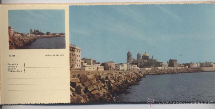 Postales: ALBUM DE 10 POSTALES EN FOTOCOLOR MATRIZADAS-CADIZ-1950 - Foto 4 - 54063393