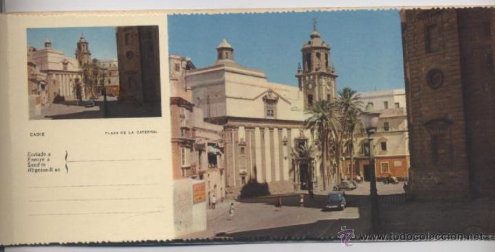 Postales: ALBUM DE 10 POSTALES EN FOTOCOLOR MATRIZADAS-CADIZ-1950 - Foto 5 - 54063393