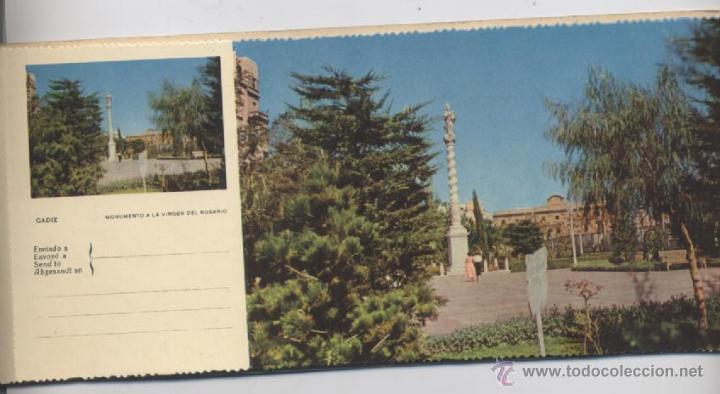 Postales: ALBUM DE 10 POSTALES EN FOTOCOLOR MATRIZADAS-CADIZ-1950 - Foto 6 - 54063393