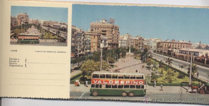 Postales: ALBUM DE 10 POSTALES EN FOTOCOLOR MATRIZADAS-CADIZ-1950 - Foto 7 - 54063393