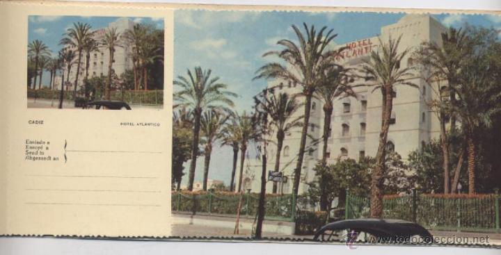 Postales: ALBUM DE 10 POSTALES EN FOTOCOLOR MATRIZADAS-CADIZ-1950 - Foto 8 - 54063393
