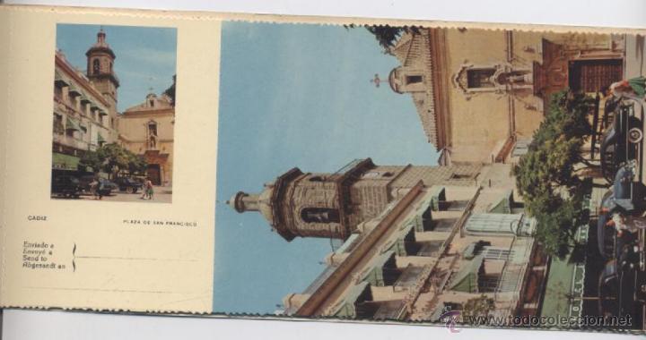 Postales: ALBUM DE 10 POSTALES EN FOTOCOLOR MATRIZADAS-CADIZ-1950 - Foto 9 - 54063393
