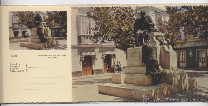 Postales: ALBUM DE 10 POSTALES EN FOTOCOLOR MATRIZADAS-CADIZ-1950 - Foto 10 - 54063393