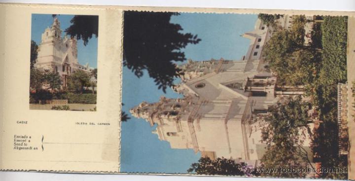 Postales: ALBUM DE 10 POSTALES EN FOTOCOLOR MATRIZADAS-CADIZ-1950 - Foto 11 - 54063393