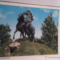Postales: POSTAL. JEREZ DE LA FRONTERA CÁDIZ. MONUMENTO AL CABALLO. Lote 54090471
