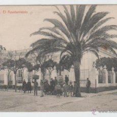 Postales: POSTAL PUERTO REAL (CÁDIZ). AYUNTAMIENTO. PLAZA DE JESÚS. THOMAS. 1910 APROX. CIRCULADA PARIS.. Lote 54148907