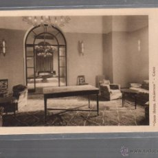 Cartes Postales: TARJETA POSTAL DE CADIZ - HOTEL ATLANTICO. SALA DE VISITA. SALON DE ESCRITURA. FOTO REYMUNDO. Lote 54168460