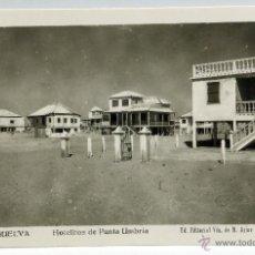 Postales: POSTAL HUELVA HOTELITOS PUNTA UMBRÍA ED VDA M ARIAS ROISÍN FOTÓGRAFO SIN CIRCULAR. Lote 54177827
