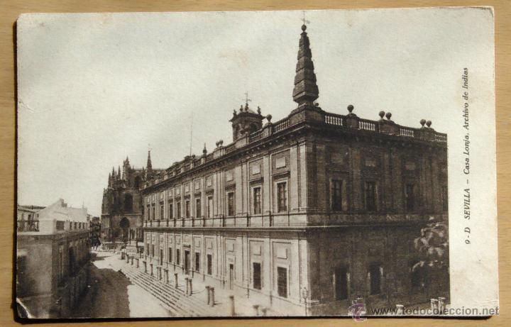 SEVILLA - CASA LONJA - ARCHIVO DE INDIAS (Postales - España - Andalucía Antigua (hasta 1939))