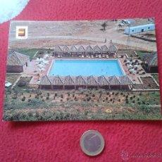 Postales: TARJETA POSTAL POST CARD PARADOR NACIONAL ALCAZAR REY DON PEDRO CARMONA SEVILLA PISCINA VER FOTO Y D. Lote 54409029