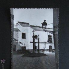 Postales: POSTAL SEVILLA. PLAZA DE LAS TRES CRUCES. . Lote 54426470