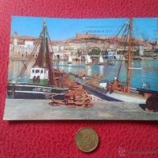 Postales: TARJETA POSTAL POST CARD ALMERIA Nº 2008 VISTA DEL PUERTO Y ALCAZABA. ARRIBAS. BARCO JAIME Y RAFAEL . Lote 54537003