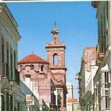 Postales: CADIZ PUERTO REAL CALLE VAQUERO ED. PERLA. CIRCULADA. Lote 54658692