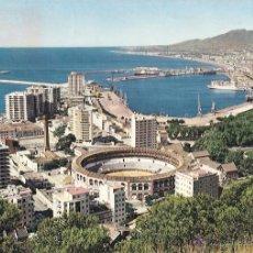 Postales: POSTAL, MÁLAGA, PLAZA DE TOROS, ESCRITA. Lote 54739167