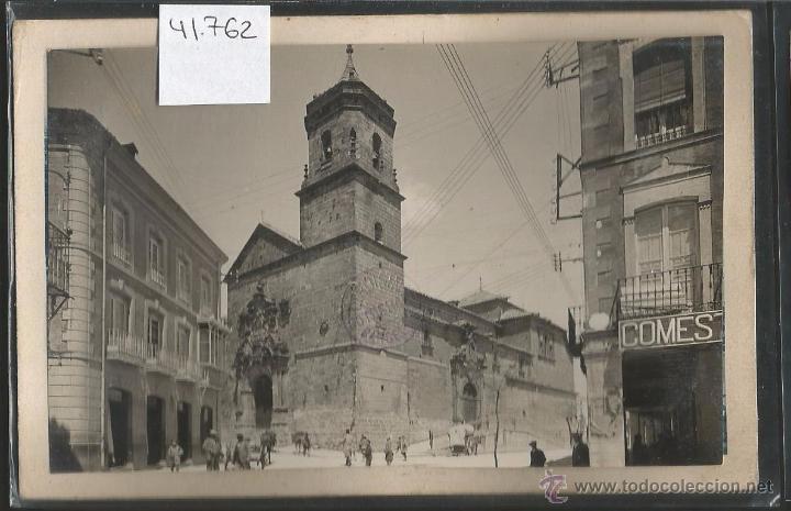 UBEDA - FOTOGRAFICA SELLO EN SECO ROISIN - VER REVERSO - (41762) (Postales - España - Andalucía Antigua (hasta 1939))