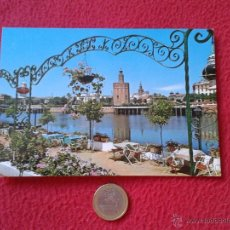 Postales: POSTAL POSTCARD SEVILLA VER FOTO/S TORRE DEL ORO BEASCOA IDEAL COLECCION. Lote 54807384