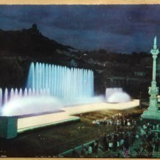Postales: GRANADA - FUENTE MONUMENTAL NOCTURNA. Lote 54894907