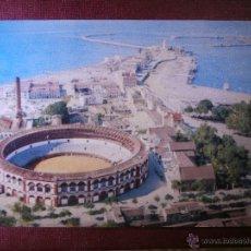 Postales: POSTAL - MÁLAGA - PLAZA DE TOROS - PUB. EDUARDO ORTEGA - FOURNIER - ESCRITA 1957 -. Lote 54923021