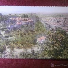 Postales: POSTAL - 4 GRANADA - LA ALHAMBRA Y VISTA PARCIAL CIUDAD - ED.GARCIA GARRABELLA - NUEVA . Lote 54927568