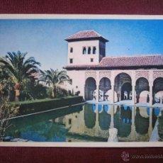 Postales: POSTAL - GRANADA. ALHAMBRA.-TORRE DE LAS DAMAS - FOTOCOLOR ELMAR - 2 -. Lote 54938056