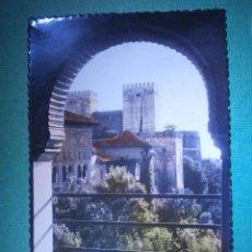 Postales: POSTAL - 24 GRANADA - LA ALCAZABA VISTA DESDE LA ALHAMBRA - ED.GARCIA GARRABELLA - NUEVA . Lote 54959107