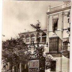 Postales: ANTIGUA POSTAL 40 SEVILLA CRUZ DE CERRAJERIA ESCRITA 1960 HELIOTIPIA. Lote 55135381