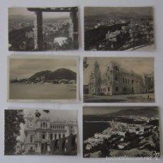 Postales: LOTE DE SEIS POSTALES DE MALAGA. Lote 55224050