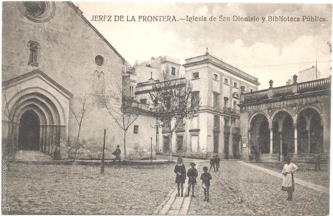 Jerez de la frontera iglesia de san dionisio y comprar for Biblioteca iglesia madrid
