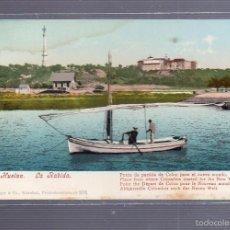 Postkarten - TARJETA POSTAL DE HUELVA - LA RABIDA. PUNTO DE PARTIDA DE COLON A EL NUEVO MUNDO. PURGER & CO. 2113 - 55391314
