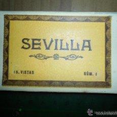 Postales: ANTIGUO ACORDEON POSTALES SEVILLA - 15 VISTAS - L. ROISIN . Lote 55683383