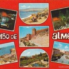 Postales: ALMERIA Nº 7017 DIVERSOS ASPECTOS CIRCULADA FOTO . SEGURA. Lote 55779171