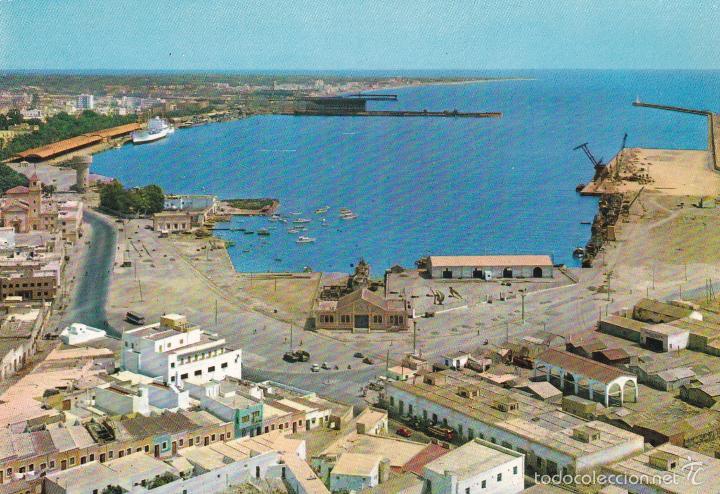 ALMERIA Nº 7007 PUERTO Y VISTA PARCIAL ESCRITA 29/7/66 FOTO SEGURA (Postales - España - Andalucia Moderna (desde 1.940))